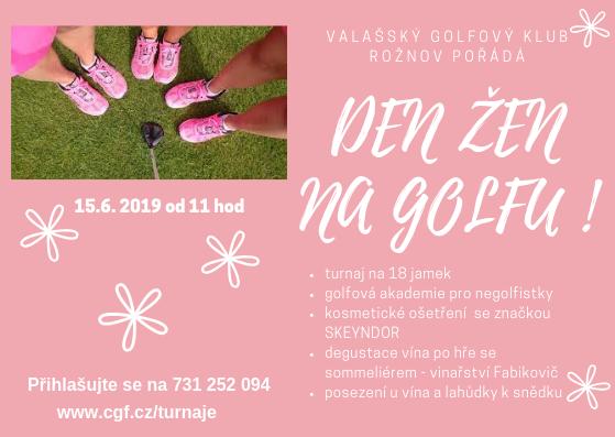 Den žen na golfu s kosmetikou SKEYNDOR - bohužel zrušeno