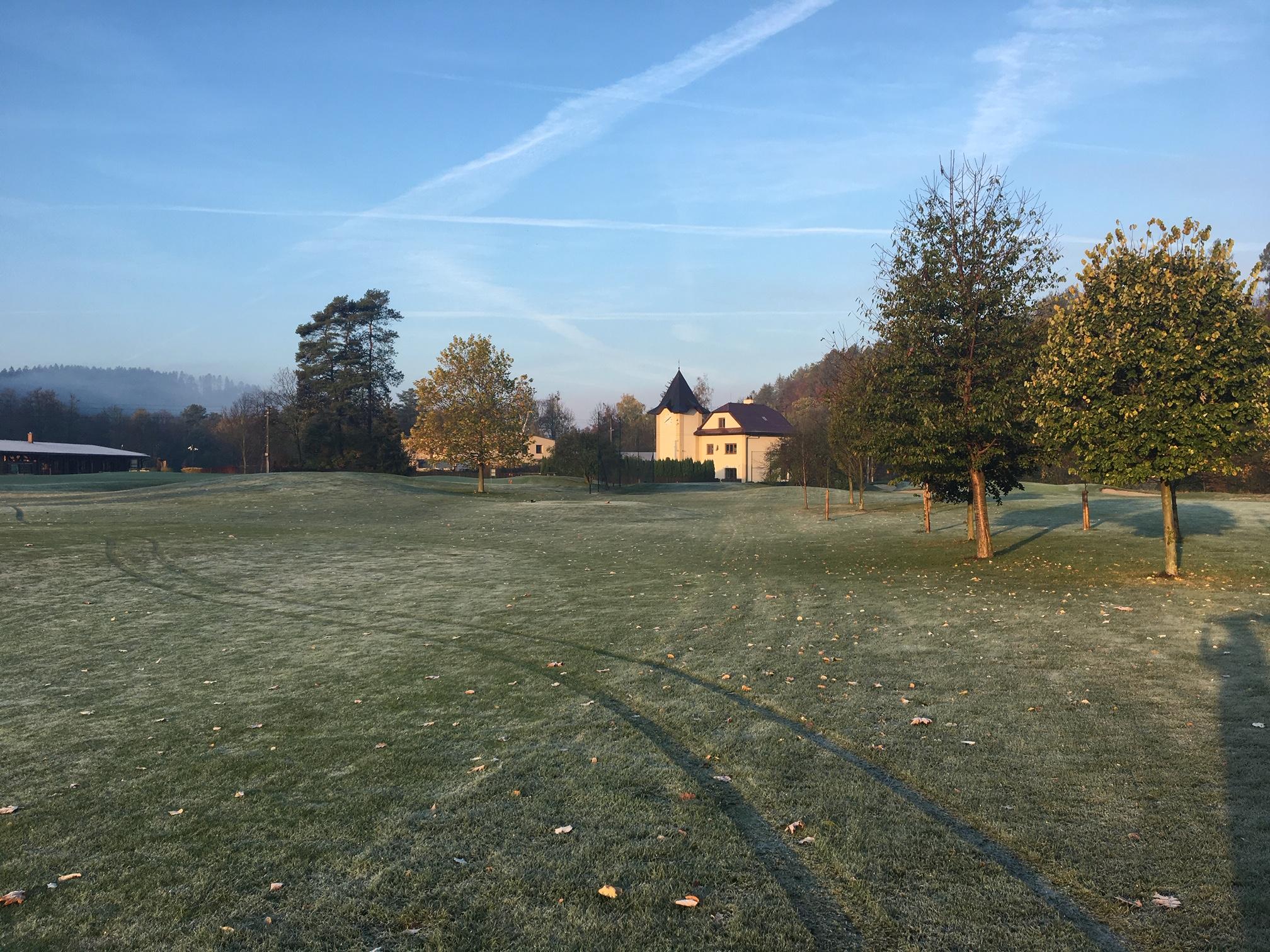 Uzavření hřiště na zimní jamky