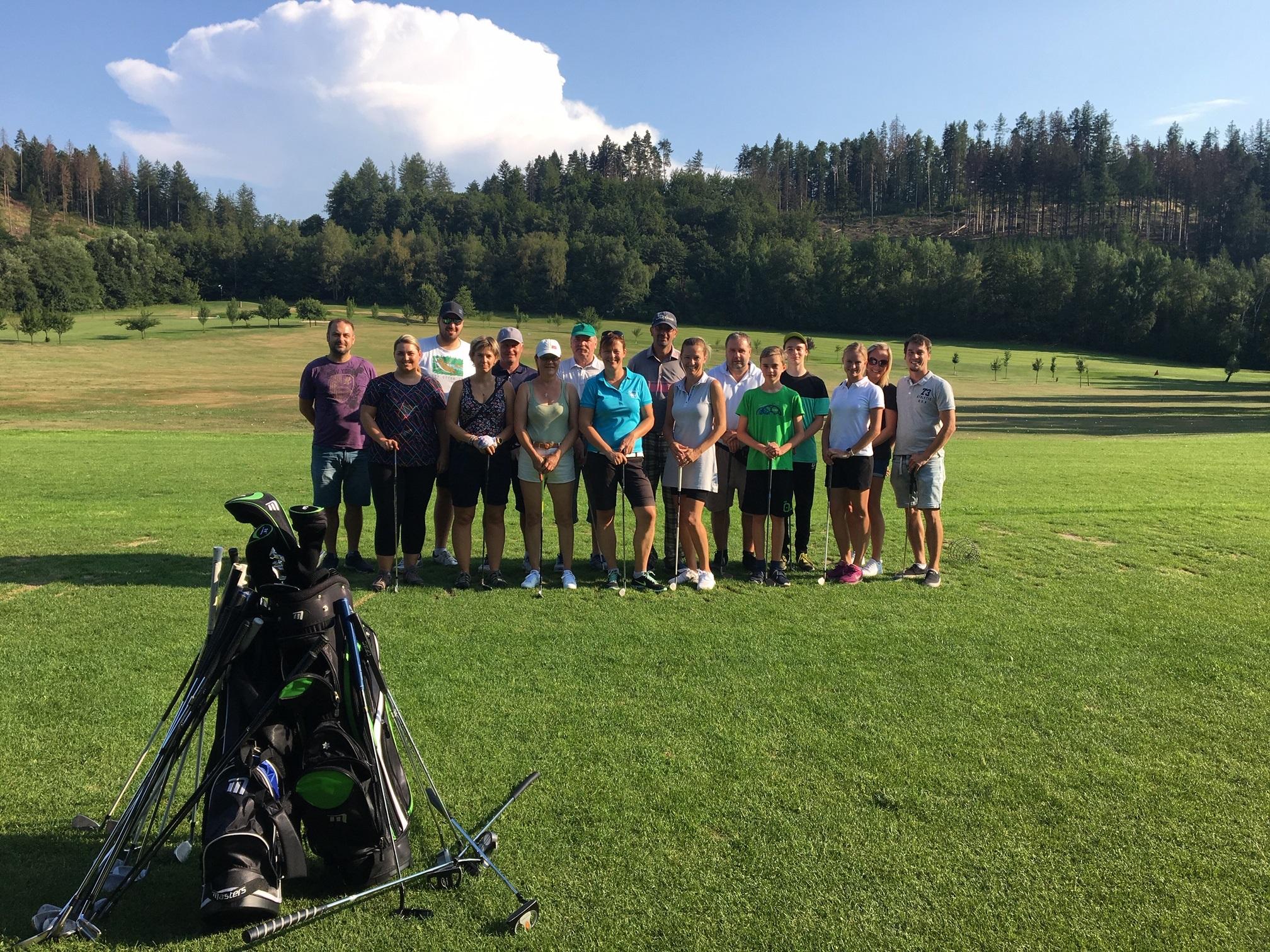 Golf pro Rožnováky